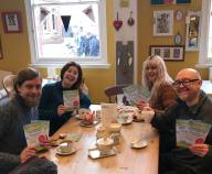 07.02.2018 Greener Living Fair leafleting 2