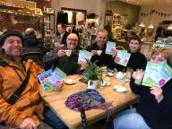 07.02.2018 Greener Living Fair leafleting 3