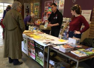 11.11.2017 Stall at Compassionate Kidderminster