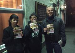 18.01.2017 Time to go Vegan Leafleting
