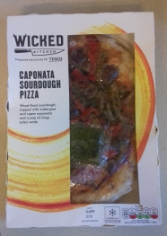 Wicked Caponata Sourdough Pizza