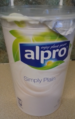Alpro Simply Plain Yoghurt