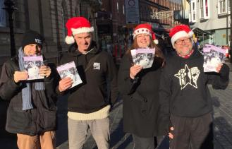 28.11.2017 Compassionate Christmas leafleting