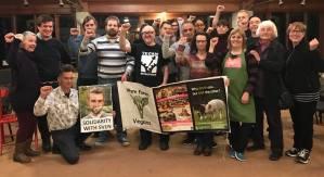 30.01.2018 Solidarity for Sven Van Hasselt