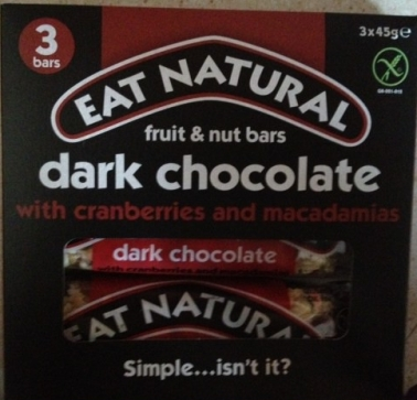 Eat Natural Fruit and Nut Bars